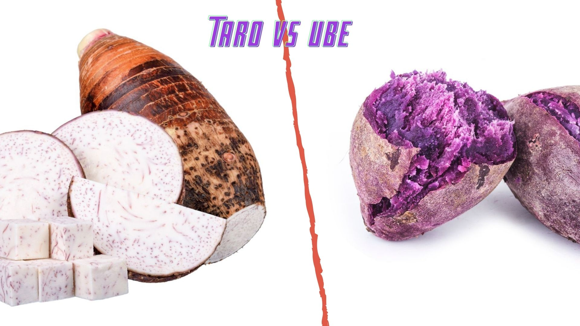 Taro vs Ube: What's the difference?